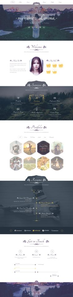 Dribbble - gippo_homepage.jpg by Emrah Demirag