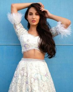 Nora Fatehi is a popular dancer in the Indian film industry. Nora Fatehi is a Canadian Model. Nora is popular in Bollywood because of her works in item songs. Lace Skirt, Sequin Skirt, Bollywood Actors, Bollywood Saree, Indian Bollywood, Western Outfits, Looks Cool, Image Hd, Indian Girls
