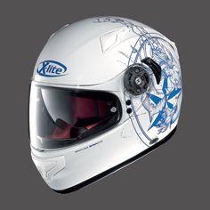 Caschi da moto Integrali X-LITE X-661 METAL WHITE MERMAID