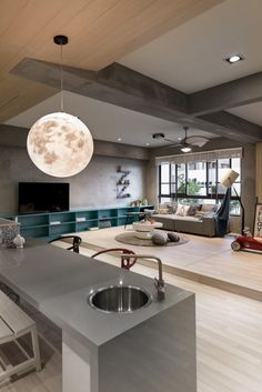 Outer Space for Kids designed by  HAO Interior Design