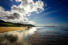 Playa de Vega, Asturias. Spain