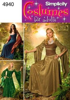 Simplicity Sewing Pattern 4940 Misses Costumes, N5 (10-12-14-16-18) by Simplicity, http://www.amazon.com/dp/B0035E1VMO/ref=cm_sw_r_pi_dp_nqzXqb1GS4DT3
