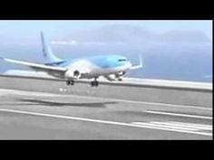 Detik Detik Pendaratan Pesawat Yang Sangat Mengerikan