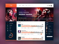 Soundcloud ( redesign )