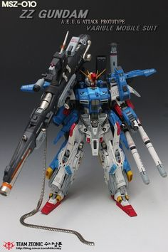 GUNDAM GUY: 1/72 Full Armor ZZ Gundam - Customized Build