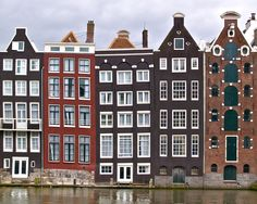 vvv Crooked Houses, amsterdam