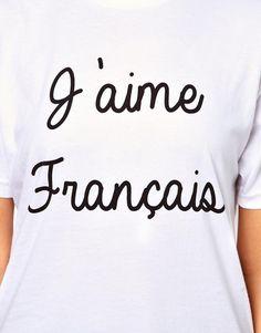 J'aime Français t-shirt.