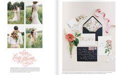 zinnia garden style party via Southern Weddings