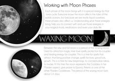 Waxing Moon...