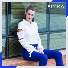 Fashion fade style is eternal.  #fashion #style #streetfashion #casual #supriseyourcustomernow #fimkastore Fade Styles, White Jeans