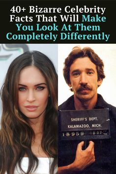 these strange celebrity facts will forever change your perception of them.
