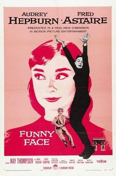 Films with fashion influence - 1957 Funny Face poster