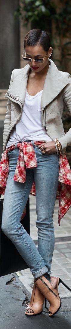 Chic In The City- DeluXe Denim~ MICAH GIANNELI- #LadyLuxuryDesigns