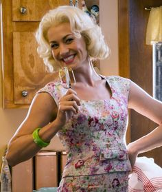 Yvonne Strahovski as Rene Carpenter in Astronaut Wives Club