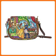 Interestprint Personalized Saddle Bag Tale As Old As Time Women Shoulder Bag - Crossbody bags (*Amazon Partner-Link)