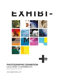 Ted Grambeau Photography exhibition poster _ selinakidd.com