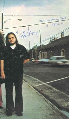 Ed King on the cover of Pronounced Lynyrd Skynyrd Ed King, Lynard Skynard, Allen Collins, Ronnie Van Zant, Outlaw Country, Lifelong Friends, Judas Priest, Van Halen, Black Sabbath