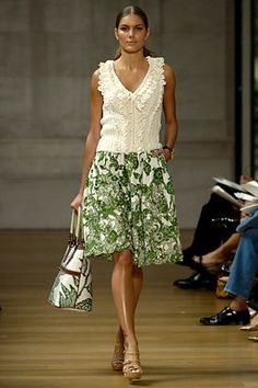 Oscar de la Renta Resort 2007 Fashion Show