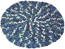 Finger Woven Rug--use colorful weaving loops and your hands to make a cute and useful rug. Find out how at makingfriends.com