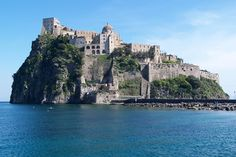 Castello Aragonese, Ischia (you may recognize this from the Talented Mr. Ripley)