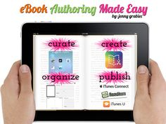TOUCH this image: eBook Authoring Made Easy! by Jenny Grabiec