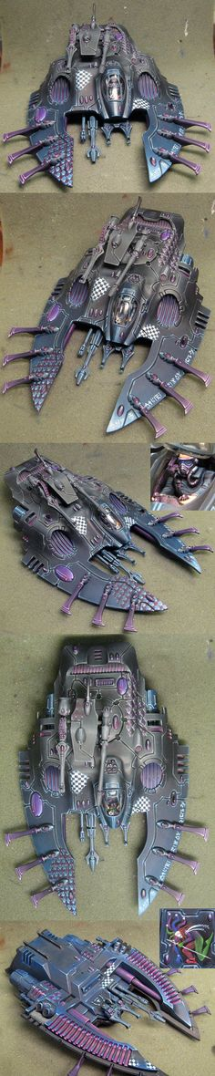 CoolMiniOrNot - Eldar Falcon by Ringil