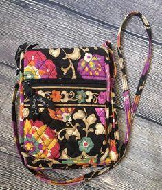 Vera Bradley Suzani Floral Mini Hipster Bag Small Cross Body Travel Purse  | eBay #verabradley