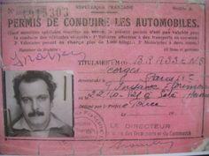 Le permis de conduire de Georges Brassens