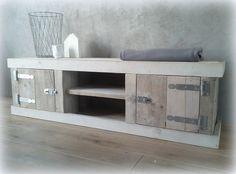 Steigerhouten tv meubel - Mooie handgemaakte meubelen! - De Houttwist
