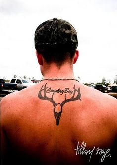 ohh hello sexy country man with this nice tattoo ;) maybe this but country girl:)
