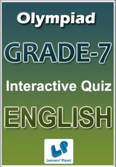 29 best interactive ebooks for grade 7 images on pinterest interactive quizzes worksheets on english grammar for olympiad students total questions pattern of questions multiple choice questions price fandeluxe Choice Image