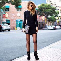 Black dresses: fave.