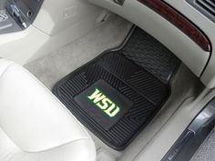 Wright State University 2-pc Vinyl Car Mat Set
