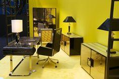 Versace Home Collection | Versace Home Collection 2012 büro möbel gespiegelte oberflächen
