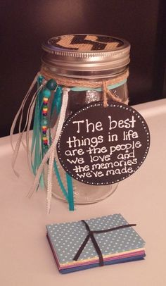 60 Memory Jar Ideas Memory Jar Jar Memory Jars
