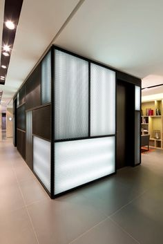 Azimut Ufa: Ester Bruzkus and Patrick Batek were commissioned by AZIMUT to develop the new vision for their international chain of hotels. Sheet Metal Wall, Metal Wall Panel, Metal Panels, Cafe Interior, Interior Walls, Interior Design Living Room, Interior Decorating, Shop Interiors, Office Interiors