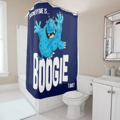 Boogie baby shower curtain - baby gifts child new born gift idea diy cyo special unique design