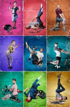Men in pin up poses - Pinup Girl Style
