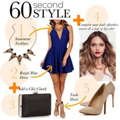 """""""60 Second Style"""" by windsorstore on Polyvore"""