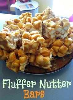 Fluffer Nutter Bars! More