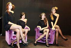 Nuestras chicas en el #SalonLookInternacional 2013