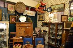 antique stores