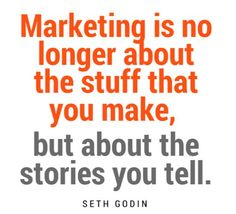 Marketing is not about the content, It's all about stories.  #blogchod #gragey #marketing #story