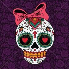 Image result for children sugar skull drawings