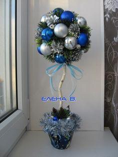 (99) Одноклассники Mini Christmas Ornaments, Christmas Topiary, Outside Christmas Decorations, Christmas Bows, Christmas Tree Themes, Christmas Centerpieces, Christmas Crafts, Easy Halloween Crafts, Christmas Printables