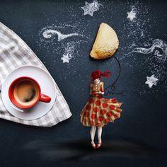 кофейные картинки Cinzia Bolognesi