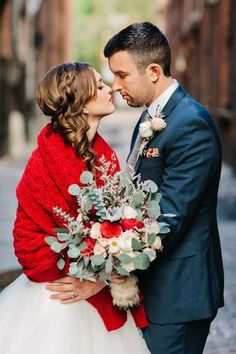 #winter #wedding #inspiration @weddingchicks