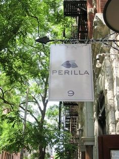 A neighborhood restaurant at its core, Perilla has just 18 tables and 10 seats at the bar. In the short time Perilla has been open we have many regular guests, mostly from the neighborhood, but also out of towners who come to New York frequently. Cooking Tv, Birthday Dinners, Places To Eat, Mafia, Chefs, Signage, Restaurants, The Neighbourhood, I Am Awesome