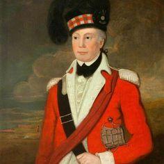 Major Duncan McPherson of (Fraser's) Highlanders Scottish Traditional Dress, Highlands Warrior, British Armed Forces, Highlanders, American War, Art Uk, Scottish Highlands, British Army, American Revolution