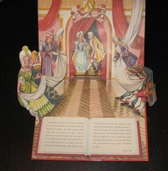 1986 Cinderella Pop Up Brown Watson Book Czechoslovakia V Kubasta   eBay